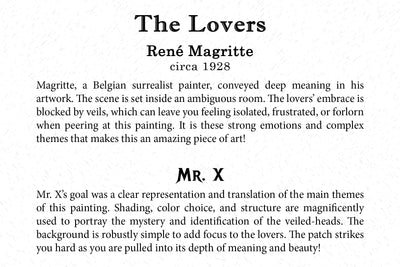 Art Card - The Lovers - Back