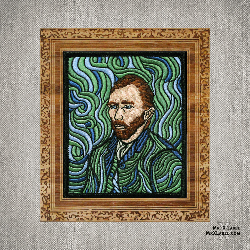 Vincent van Gogh - Self Portrait Embroidered Patch