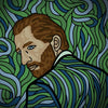 Vincent van Gogh - Self Portrait - Revisited - Art
