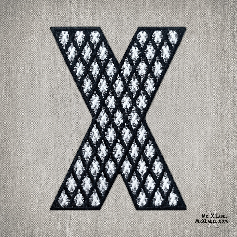 X of Xs v1 - Black Embroidered Patch