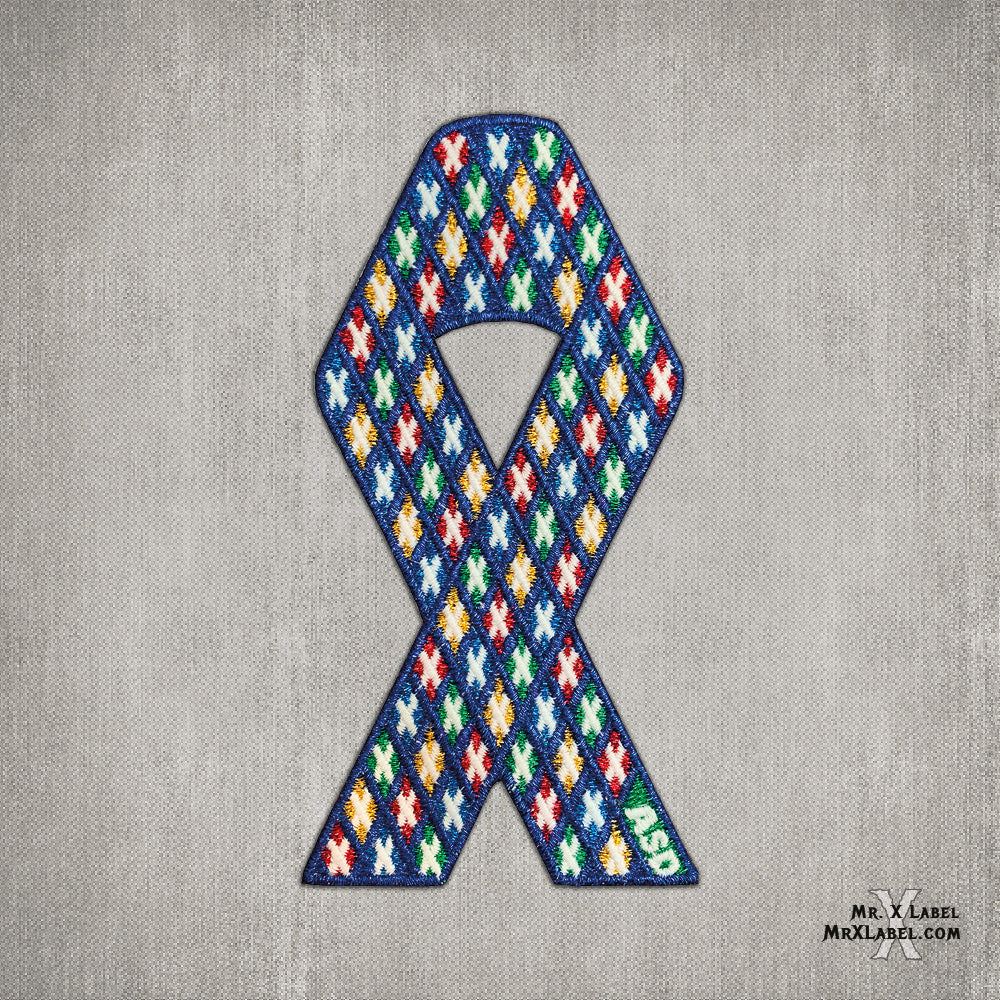 X of Xs v4 - ASD Ribbon Embroidered Patch