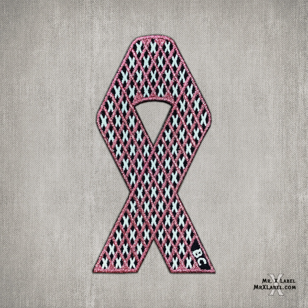 X of Xs v5 - BC Ribbon Embroidered Patch
