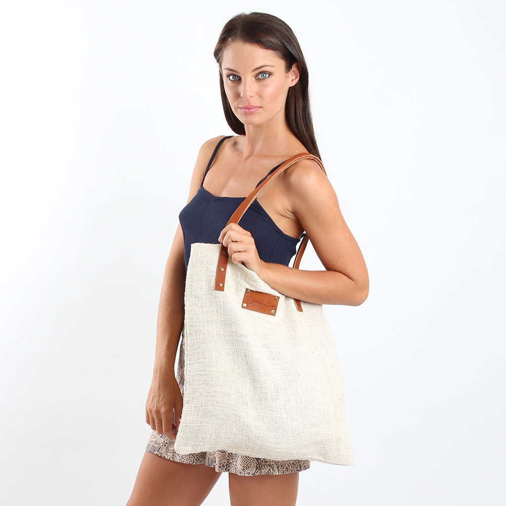 Cotton Satchel Bag