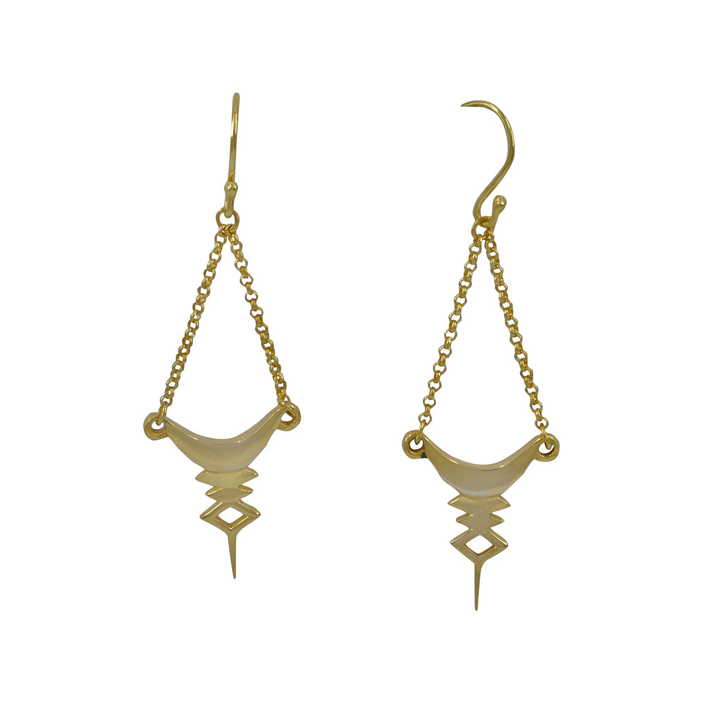 Nala Earrings - Tigani Lux
