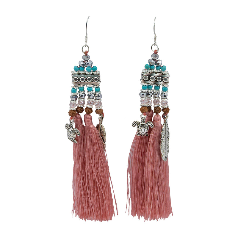 Charmed Tassel Earrings