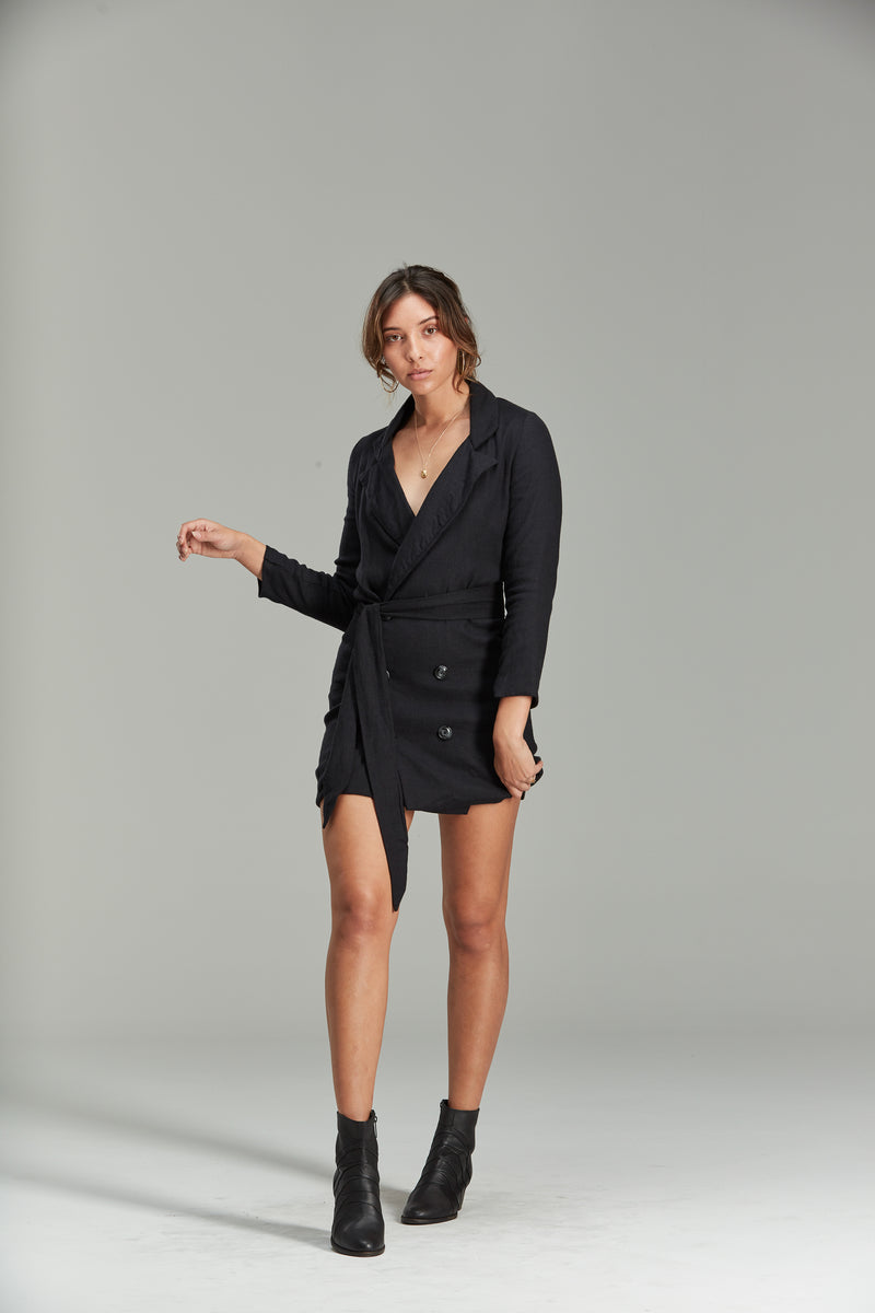 Ziggy Blazer Dress - Tigani Lux