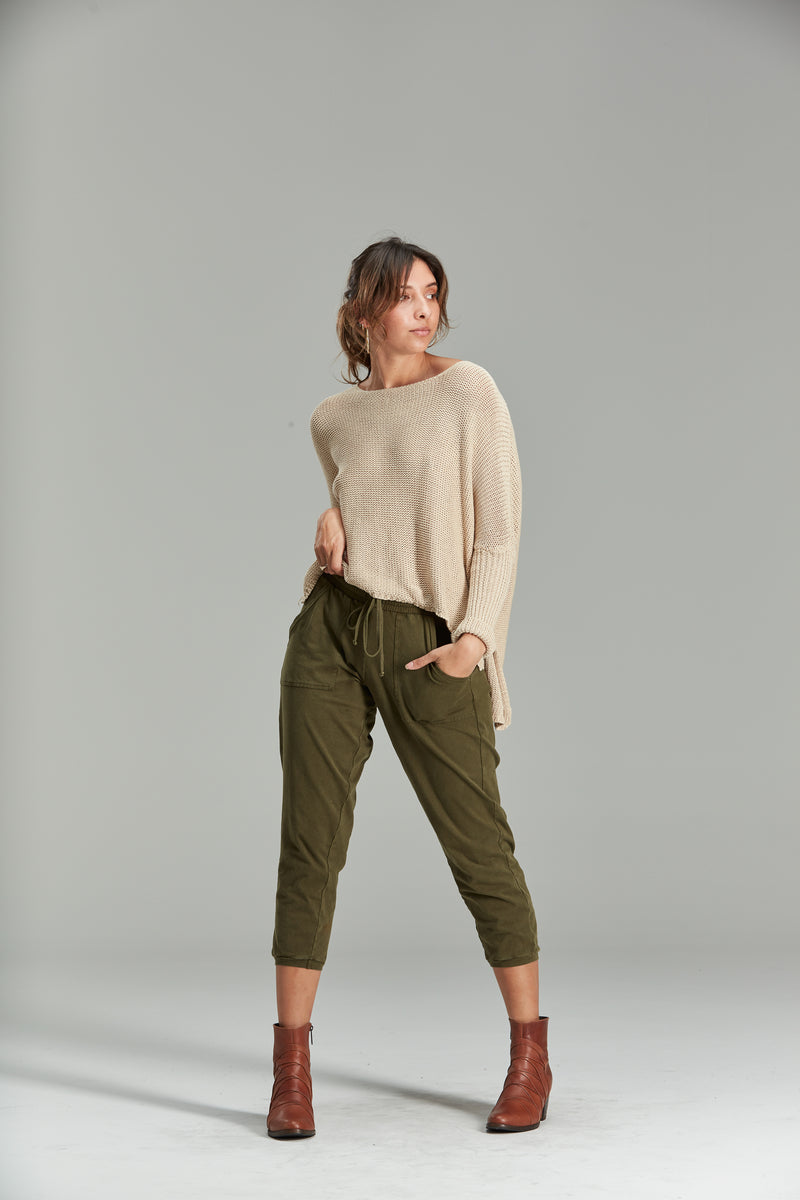 Franchesca Slouchy Knit - Tigani Lux