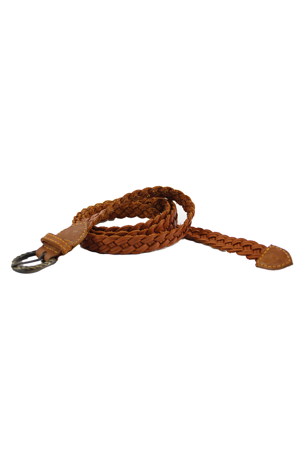 Plaited Weave Belt - Tigani Lux