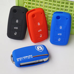 WOLFSBURG key fob cover