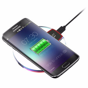 Universal Qi Wireless Charger Charging Pad - Samsung Galaxy S6 S7 S8 Edge Plus Note 5