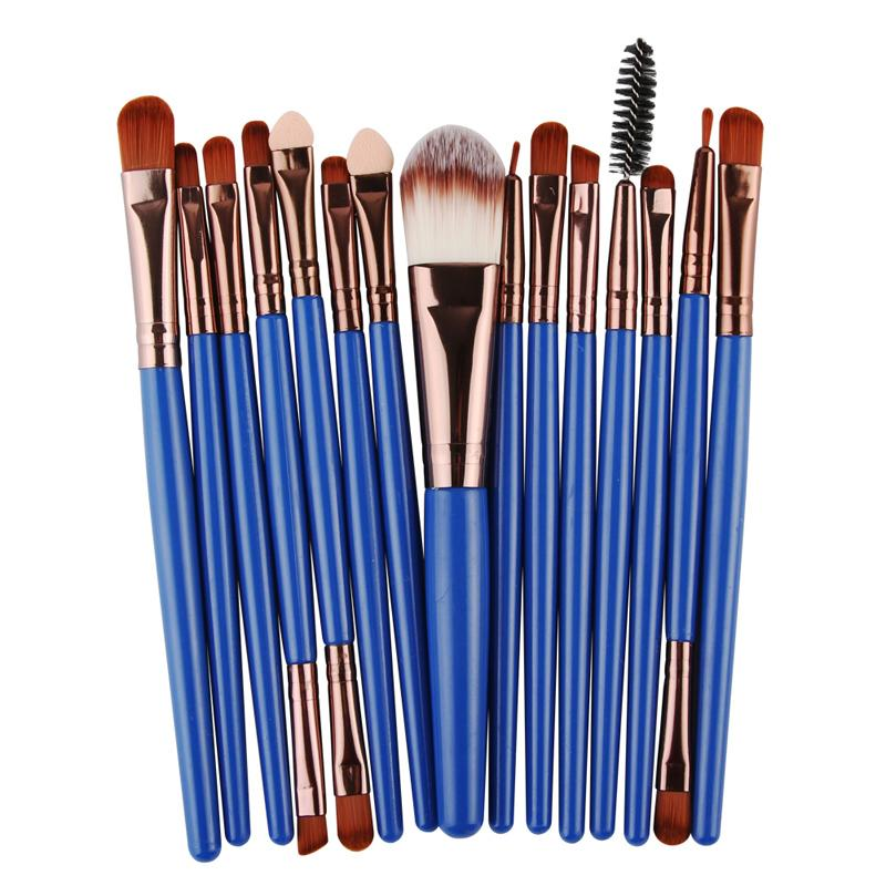 "15 PCs Professional Makeup Brush Kit - ""B2G1"""