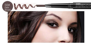 Waterproof Dual Matte Eyebrow Pencil  With Brush - B2G1