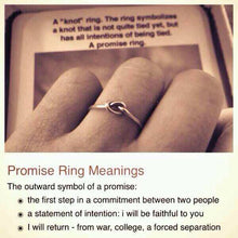 Knot Promise Ring
