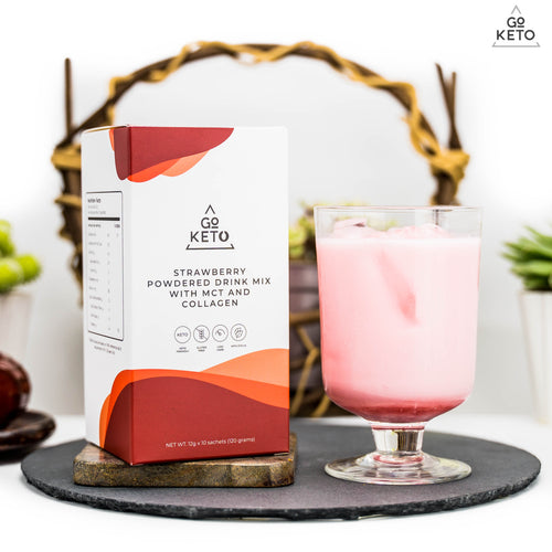 GOKETO STRAWBERRY DRINK MIX