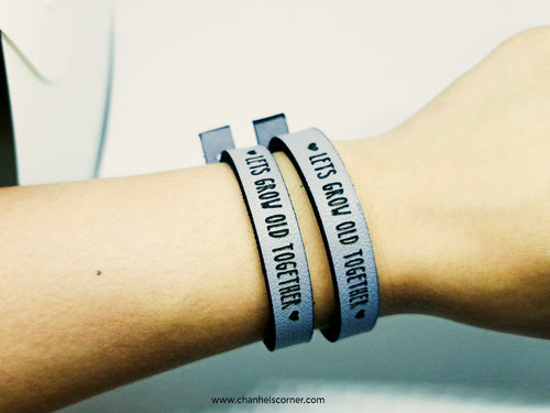 Let's Grow Old Together Bracelet