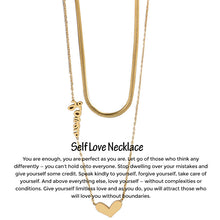 Self Love Necklace + Free Gift