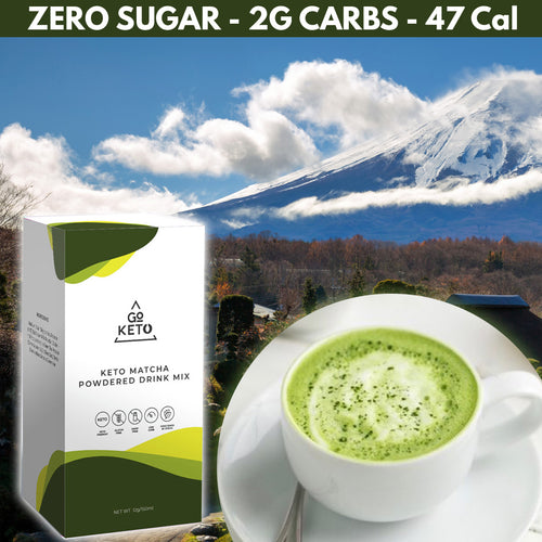 GOKETO MATCHA DRINK MIX