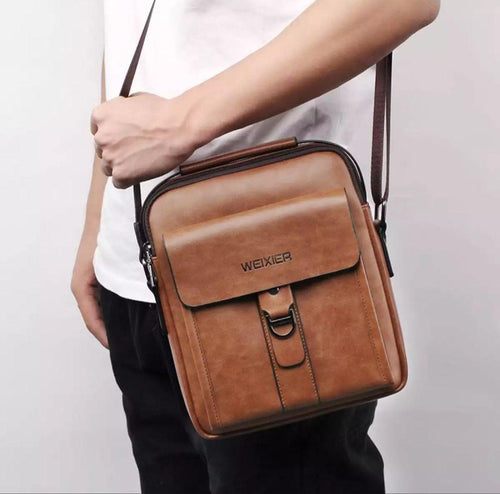 FOR HIM VINTAGE CROSSBODY BAG + FREE GIFT