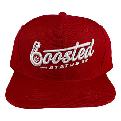 Boosted Status Snapback Hat - OG Red