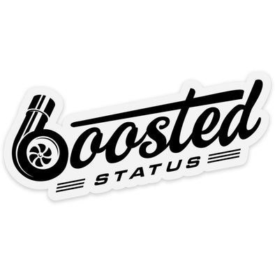 Boosted Status Decal / Sticker