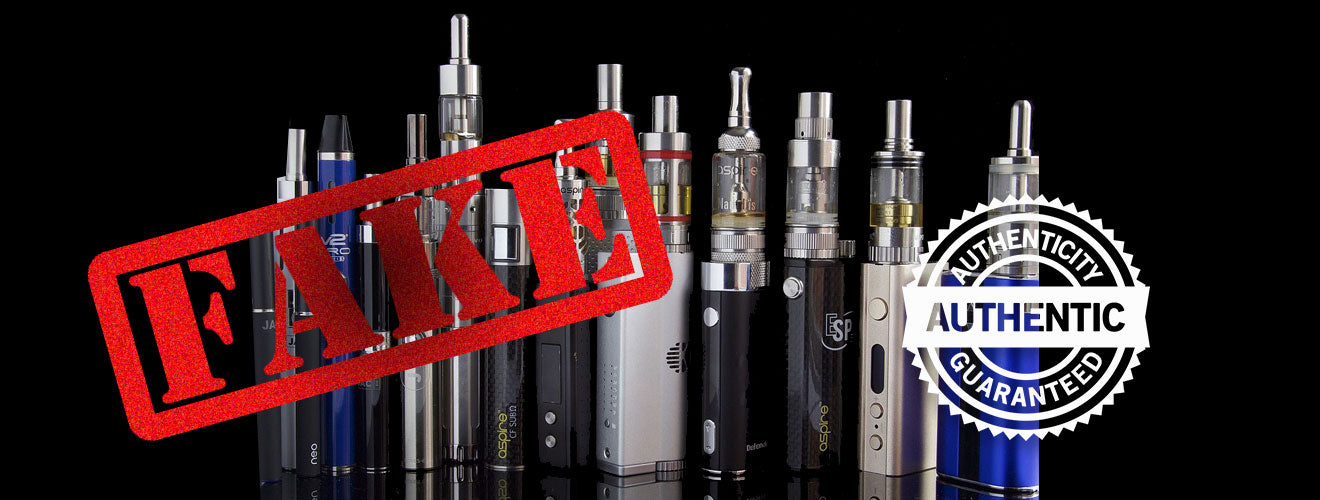 Fake e-cigs and Vape Gear