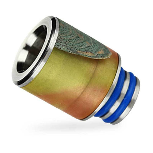 Arctic Dolphin Stabilized Wood 510 Drip Tip