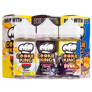 Cookie King DVNK/Choco Cream/Lemon Wafer Vape Juice