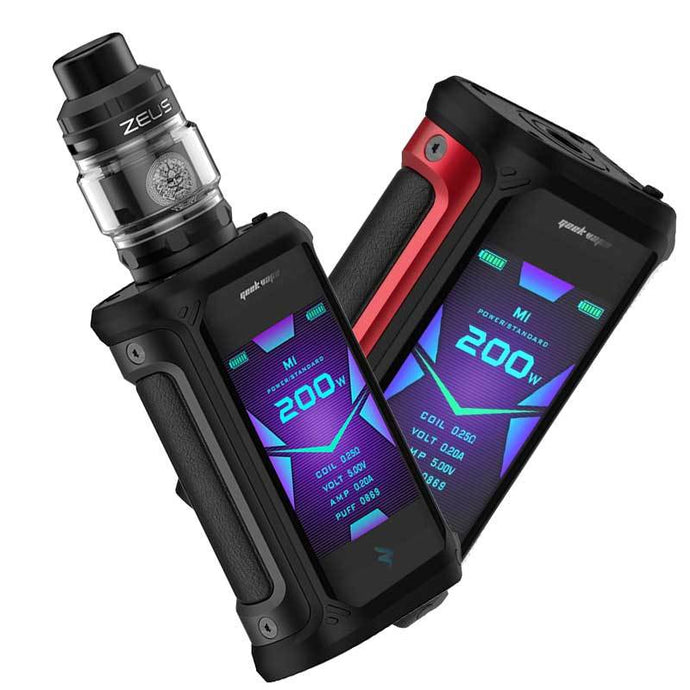 Geekvape Aegis X 200W TC Kit with Zeus Tank