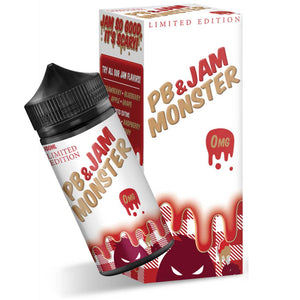 Jam Monster Peanut Butter & Jam Strawberry Limited Edition