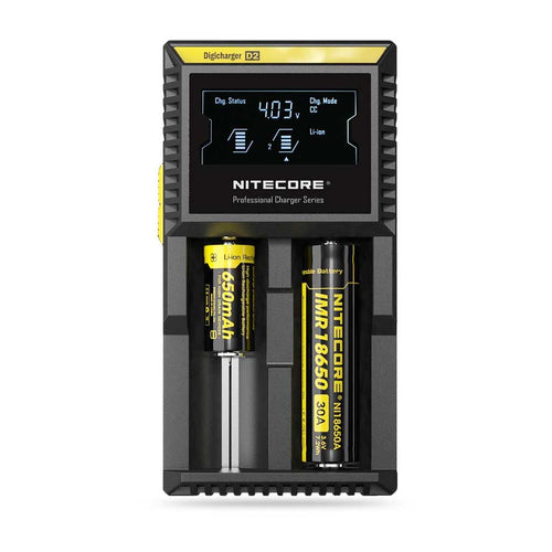 Nitecore Intelligent charger D2 LCD 2-Slot Charger
