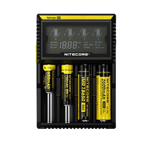 Nitecore Intelligent charger D4 LCD 4-Slot Charger