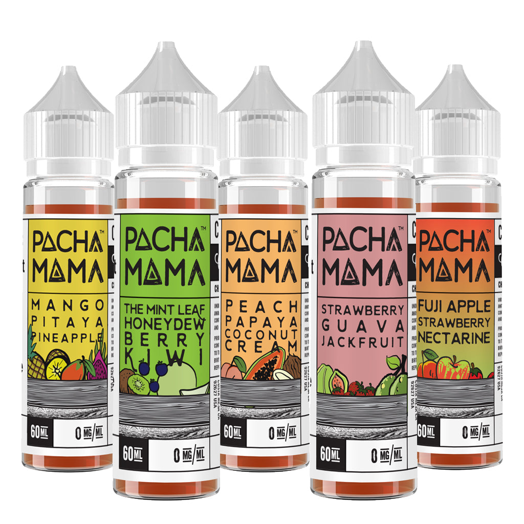 From the brilliant minds behind Charlie's Chalk Dust comes exciting flavours in the form of Pachamama! Fantastic tropical flavours are their speciality, so look out for Charlie's Chalk Dust luscious and distinct lineup of eJuice with Pachamama!