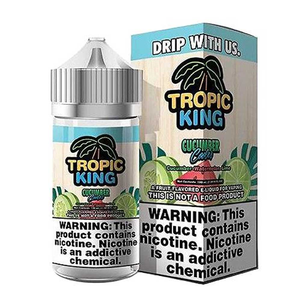 Tropic King - Cucumber Cooler 100ml e-liquid