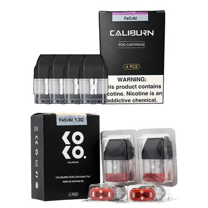 UWELL Caliburn/Koko Pod Cartridge 4pcs