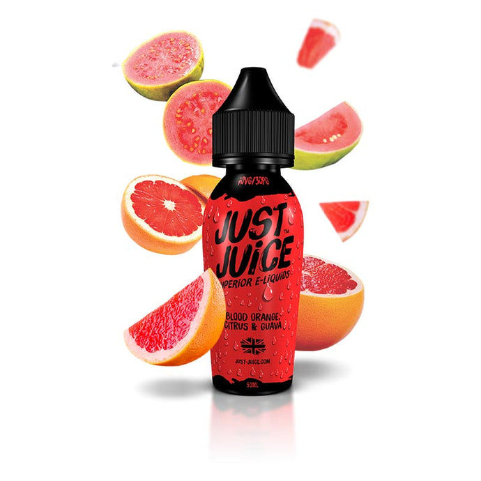 Just Juice - Orange, Citrus & Guava e-liquid