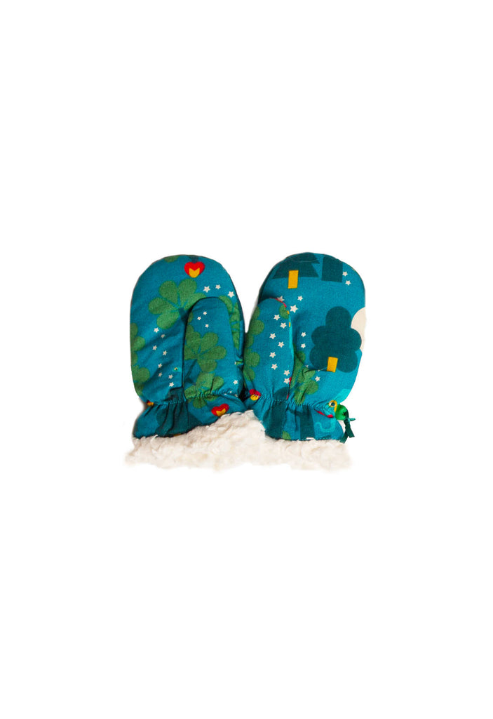 Midnight Jungle Mitts - Little Cotton Cloud