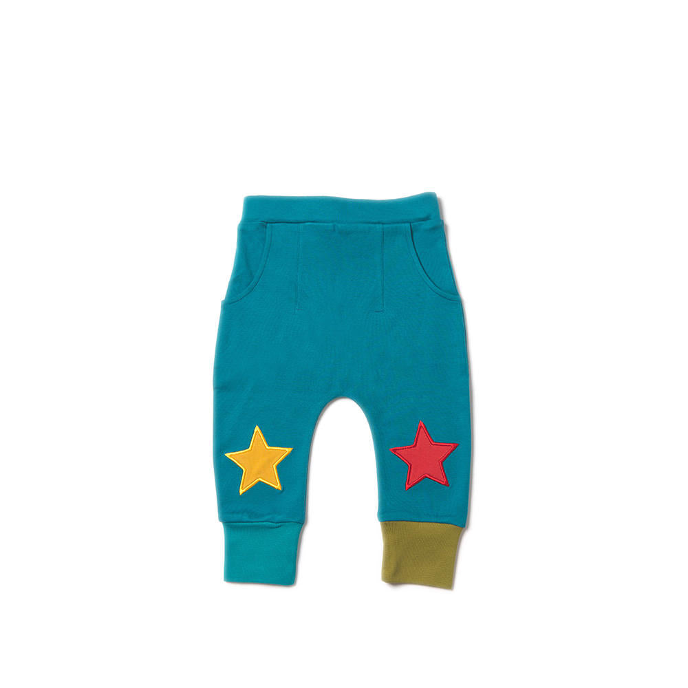 Midnight Blue Star Jogger - Little Cotton Cloud