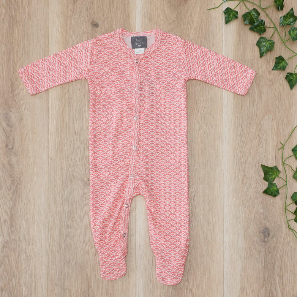 Classic Footie Jumpsuit Sunrise - Little Cotton Cloud