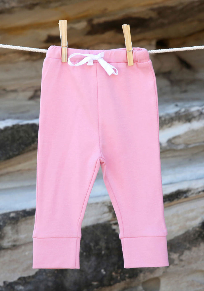 Essential Pink Leggings - Little Cotton Cloud