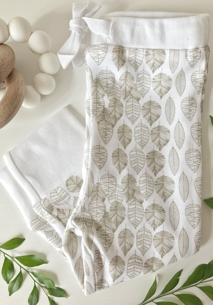 Leaf Leggings - Little Cotton Cloud
