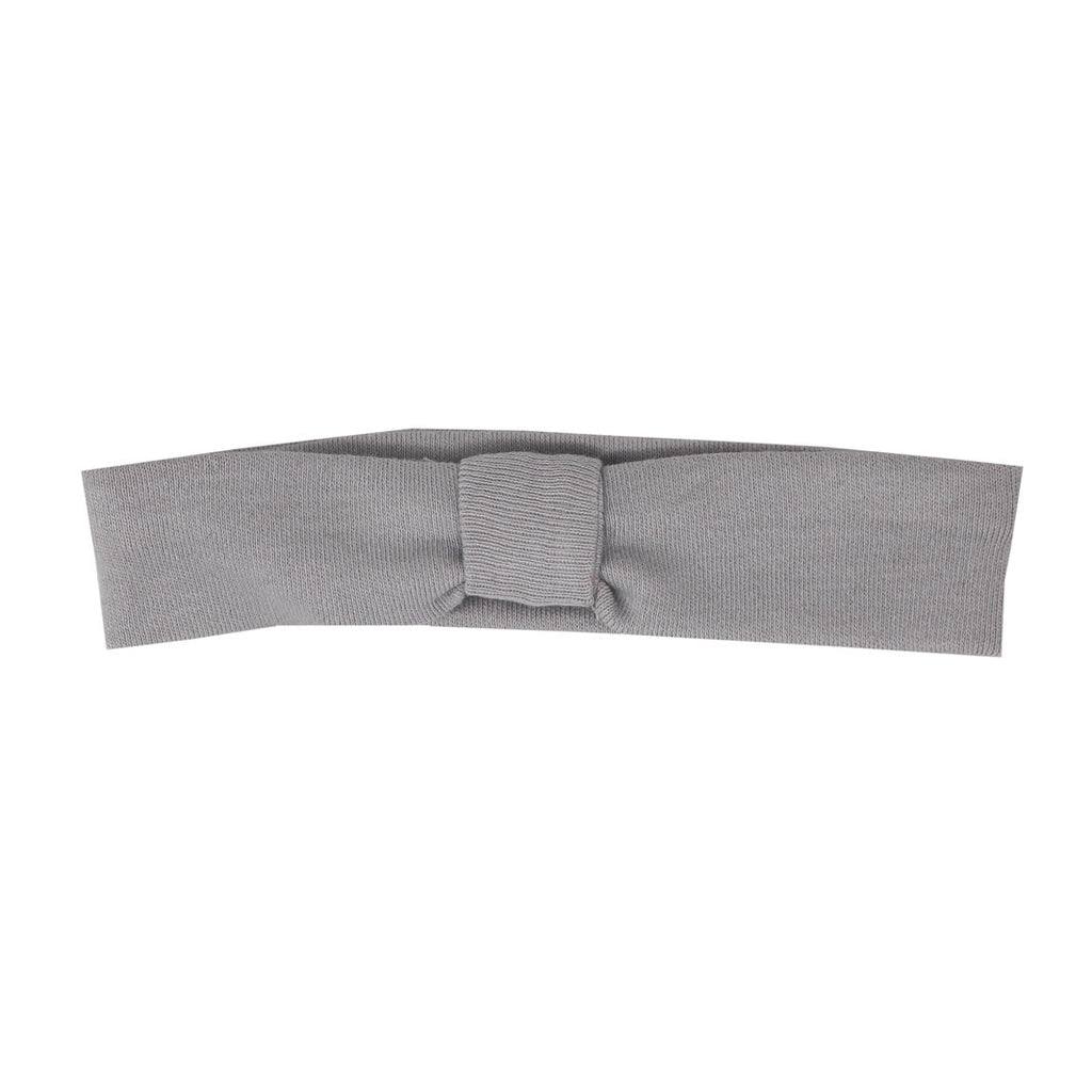 Organic Headband Light Gray - Little Cotton Cloud