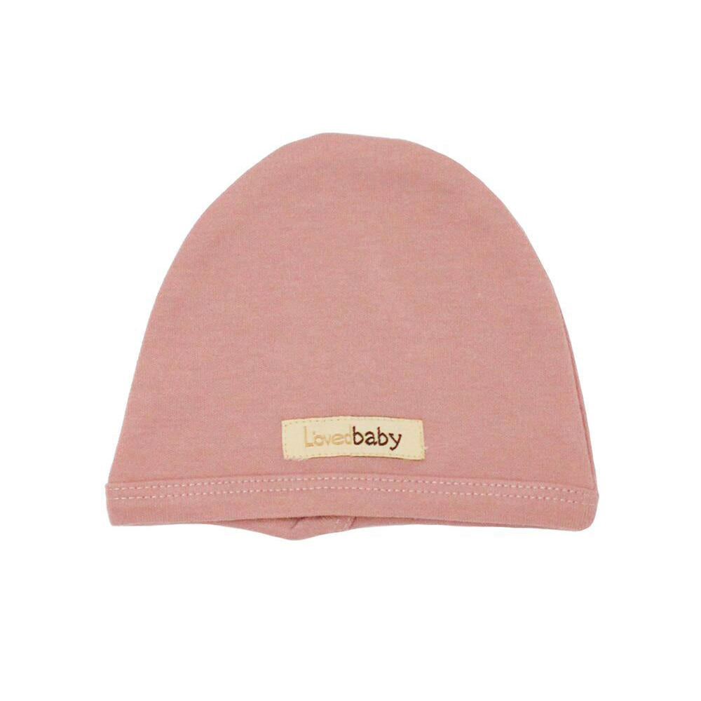 Organic Cute Cap Mauve - Little Cotton Cloud