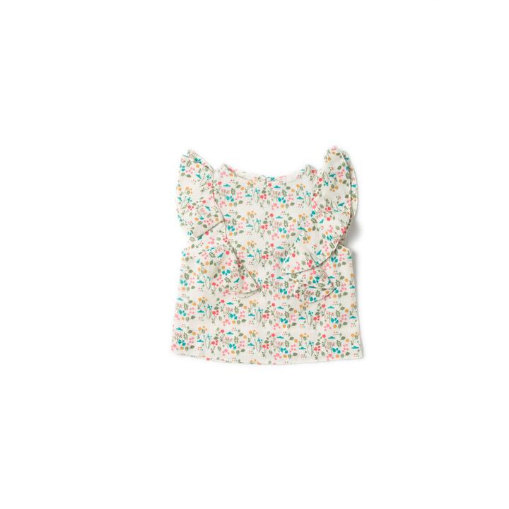Botanical Falling Water Top - Little Cotton Cloud