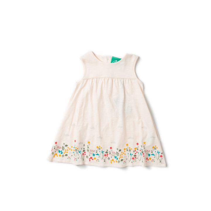 Botanical Story Time Dress - Little Cotton Cloud