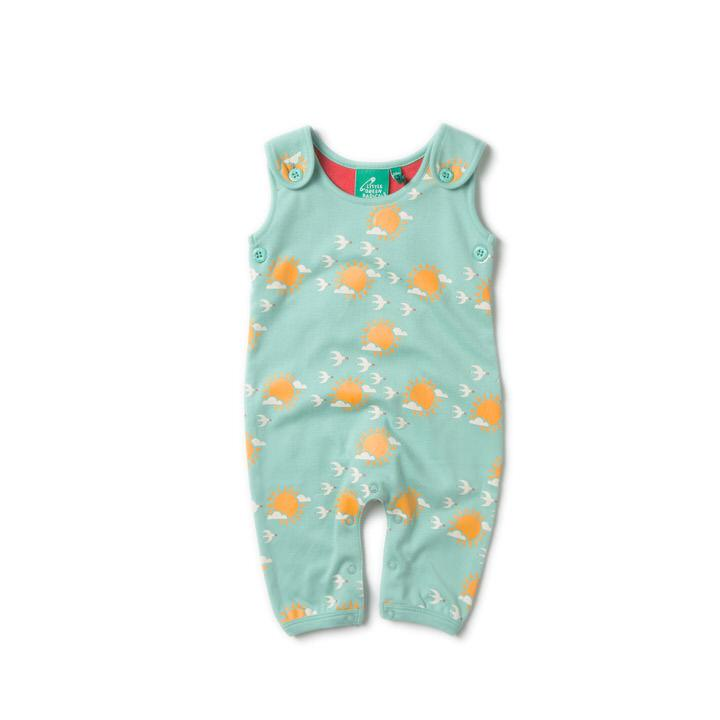 Into The Sun Dungarees - Little Cotton Cloud