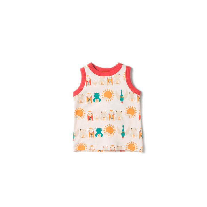 River Friends Sunshine Vest - Little Cotton Cloud