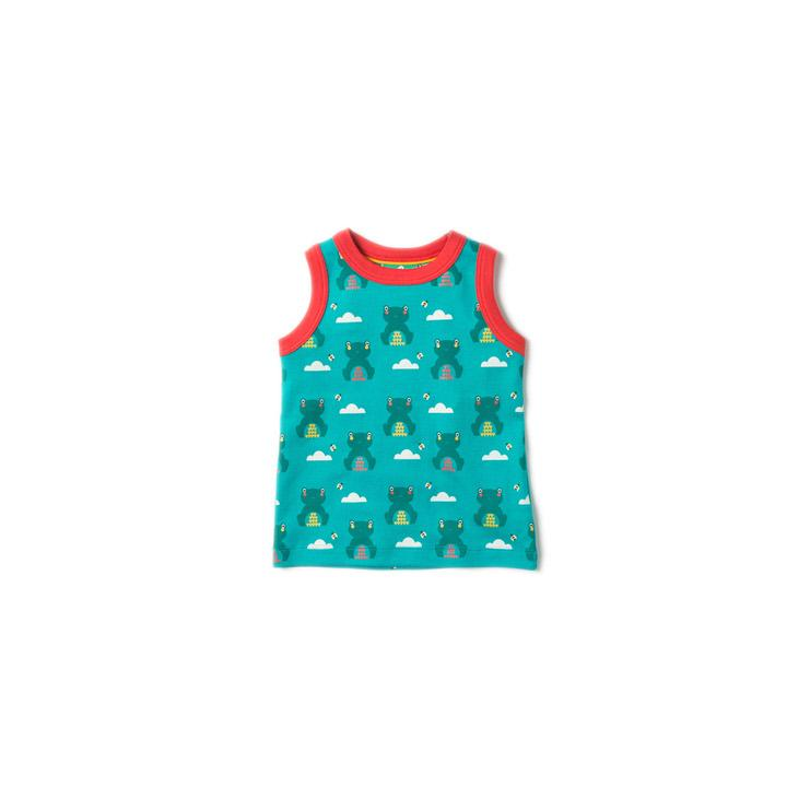 River Frog Sunshine Vest - Little Cotton Cloud