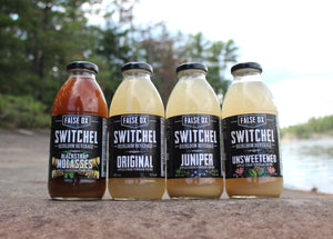 Switchel, hydrating drink from history made with Ginger, Organic apple cider vinegar and organic cane sugar.