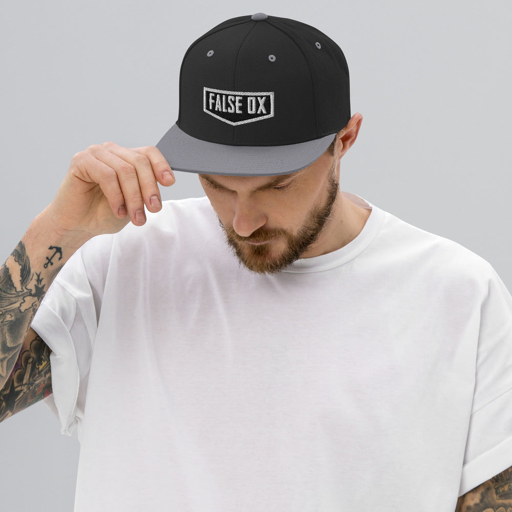 False Ox Snapback Hat