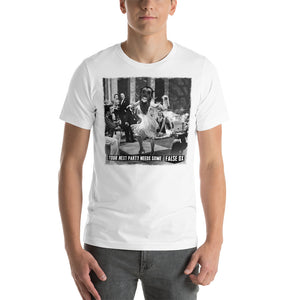 False Ox Party Unisex T-Shirt (white and other colours)